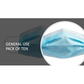 Disposable Protective Face Mask pack of 10