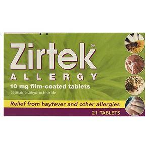 Zirtek Allergy Tablets