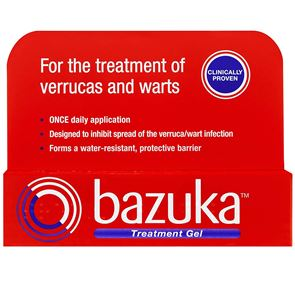 Bazuka Treatment (salicylic acid, lactic acid) 26% w/w Gel 6g