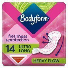 Bodyform Ultra Towel Long 14