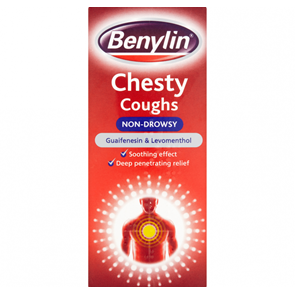 Benylin Chesty Cough Non-Drowsy Solution