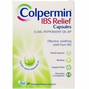 Colpermin (peppermint oil) capsules 20