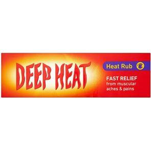Deep Heat (menthol, eucalyptus, methyl salicylate, turpentine oil) heat rub 100g