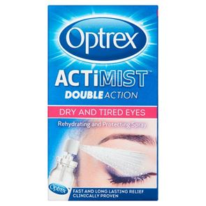 Optrex ActiMist Double Action For dry & tired eyes spray 10ml