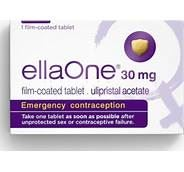 EllaONE (ulipristal acetate) 30 mg tablet