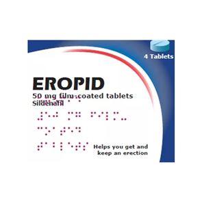 Eropid (Sildenafil) 50mg tablets