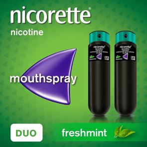 Nicorette QuickMist Freshmint Duo Mouthspray 2 x 150
