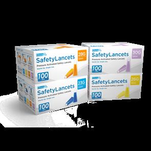GlucoRx Safety Lancets