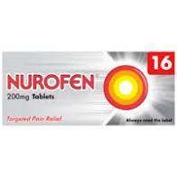Nurofen (Ibuprofen) 200mg tablets 16