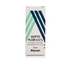 Isopto Plain (Hypromellose) 0.5% eye drops, solution 20 ml