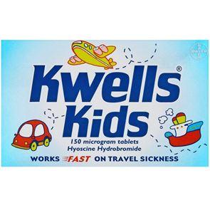 Kwells Kids (Hyoscine) 150 microgram tablets 12