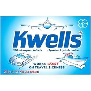 Kwells (Hyoscine) 300 microgram tablets 12