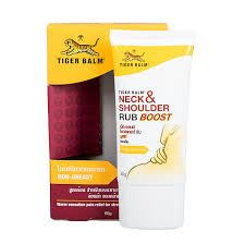 Tiger Balm Neck and Shoulder (Camphor and Menthol) Ointment 50g