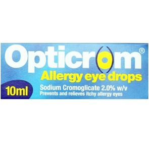 Opticrom Allergy 2% Eye Drops 10ml