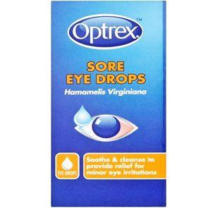 Optrex sore eyes (hamamelis virginiana) eye drops 10 ml