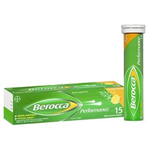 Berocca Effervescent Orange Tablets