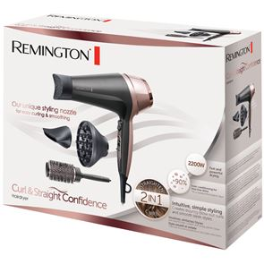 Remington Curl and Straight Confidence Hairdryer D5706