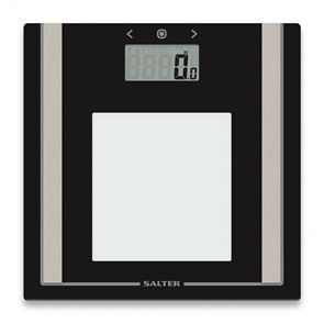 Salter Body Analyser Digital Large Glass Display Home Scales 9112 BK3R