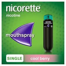 Nicorette Quickmist Cool Berry Single 1 x 150