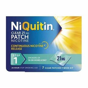 NiQuitin Clear Nicotine 7 Patches