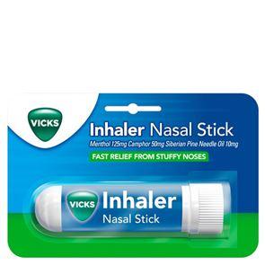 Vicks Inhaler Nasal Stick (Menthol, Camphor, Siberian Pine Needle Oil). Nasal stick 0.5ml