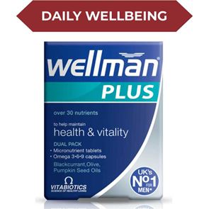 Wellman Tablets Plus Omega 3-6-9 Capsules