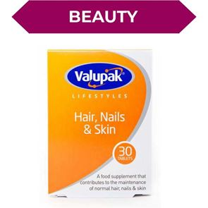 Valupak Hair, Nails & Skin Tablets 30