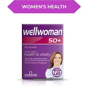 Wellwoman 50 Plus Tablets 30