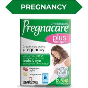 Pregnacare Plus Tablets with Omega-3 Capsules 56