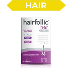 Hairfollic Her Advanced 30 Tablets 30 Capsules Pack