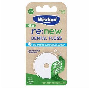 Re:New Green Mint Flavour Dental Floss